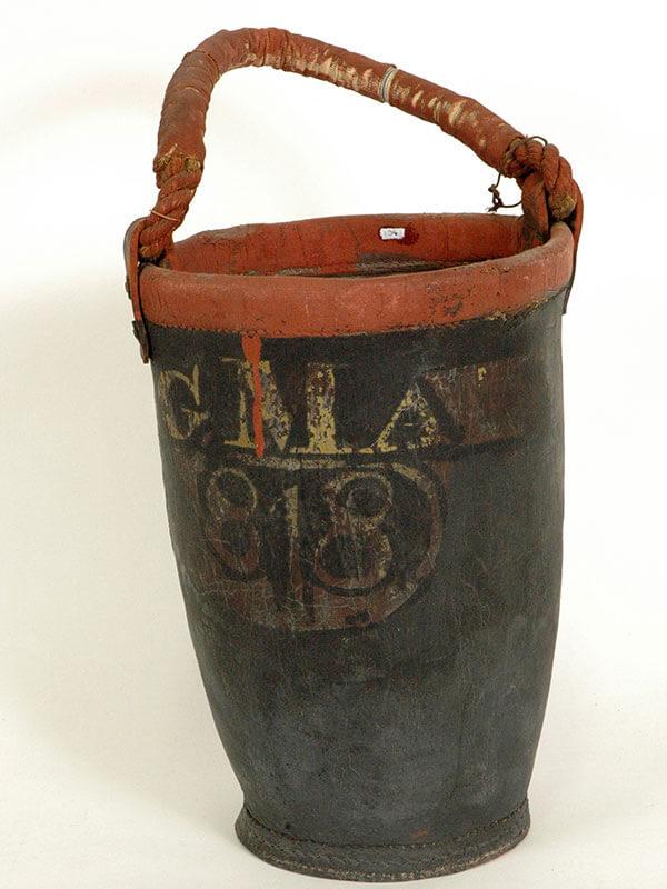 Fire Brigade bucket, 1818